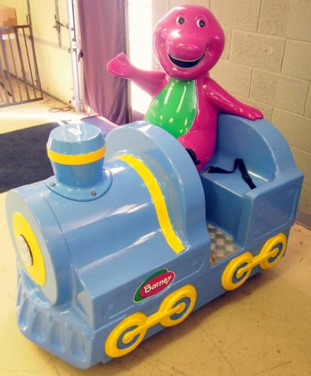 Fun2Learn Children's Rides - Barney Train