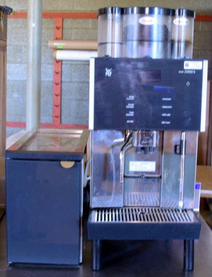 WMF 2000S Dual Espresso Machine & Milk Refrigerator