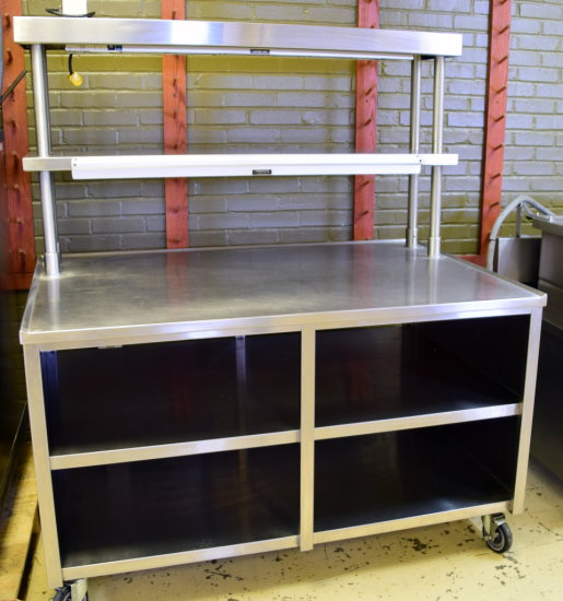 "60"" x 40"" S/S Pick-up Counter/Prep Table"
