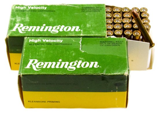 Commercial .22 Hornet Ammo and Brass