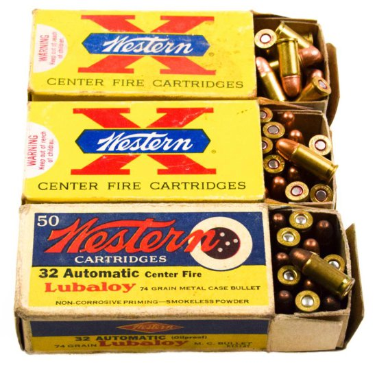 Commercial .32 ACP Ammo