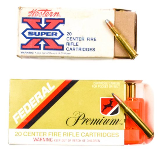 .270 Winchester and .30-30 Winchester Silvertip Ammo