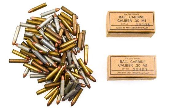 USGI .30 M1 Carbine Ammo