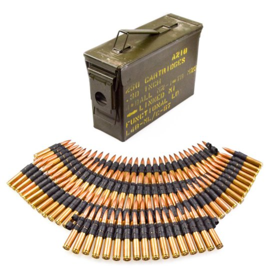 USGI .30 M2 Rifle Ammo