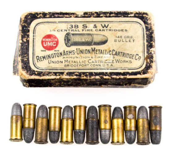 Collectible .38 S&W Box