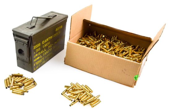 SGI .223 Fired Brass Cartridge Cases