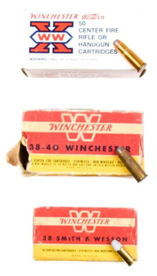 .38 Smith & Wesson and .38 Winchester Ammo