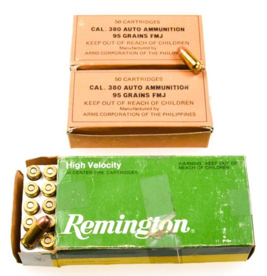 Commercial .380 ACP Ammo