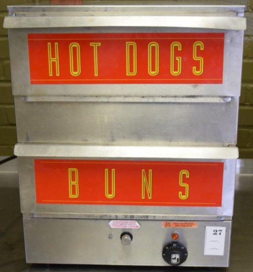 APW Wyott Hot Dog Steamer