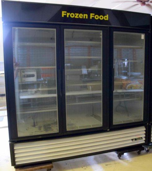 True 3dr Full View Freezer