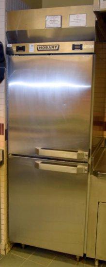 Hobart S/S 1 Door Combo Cooler/Freezer
