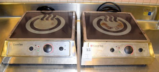 Cook Tec Induction SafeTop Cook Top, Burners