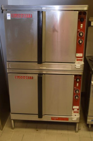 Blodgett S/S Double Stack Convection Oven