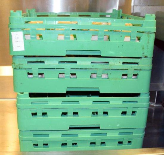31 Green Assorted Dish Racks