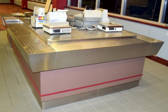 13'x7' Cashiers Booth