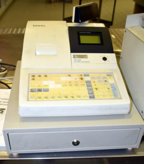 Registers/Change Machines/Scales