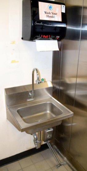 """20""""x17"""" Hand Sink"""