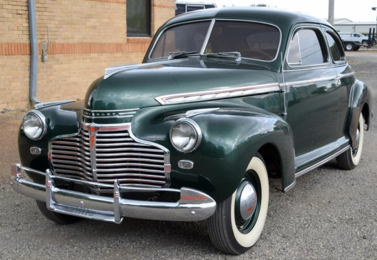 1941 Chevrolet Special Deluxe Passenger Coupe