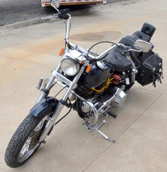 1982 Harley Davidson Super-Glide