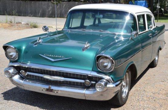 1957 Chevrolet Belair/210 4 dr sedan