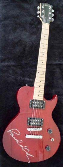 Paul McCartney Signed California Electric Guitar