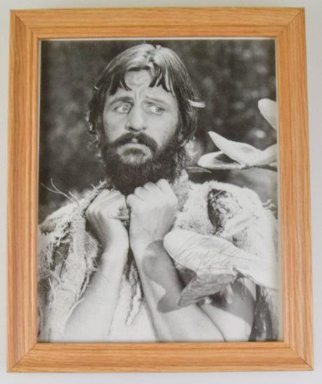 Ringo Starr Autographed Photo with COA
