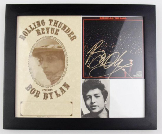 Bob Dylan Autograph with COA