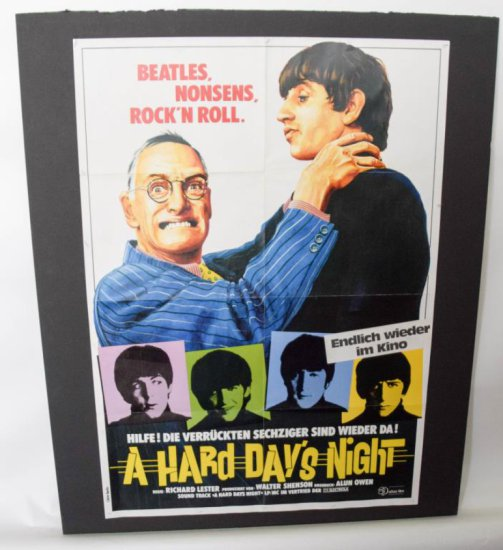 "1964 ""A Hard Day´s Night"" Richard Lester Movie Poster"