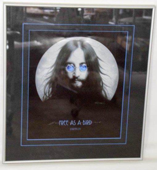 """""""Free As A Bird""""  Framed John Lennon Poster"""