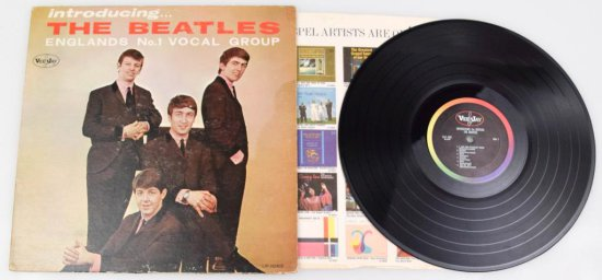 Introducing… The Beatles Mono Vinyl Record
