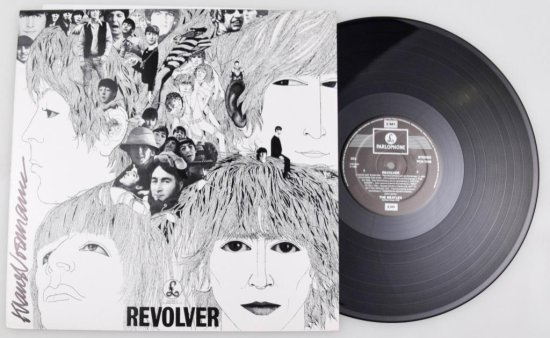 Klaus Voorman Signed LP Cover Revolver