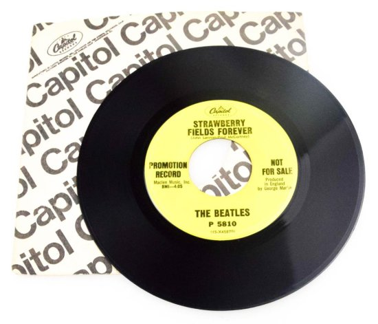 "Beatles ""Strawberry Fields Forever"" Promotional Single"