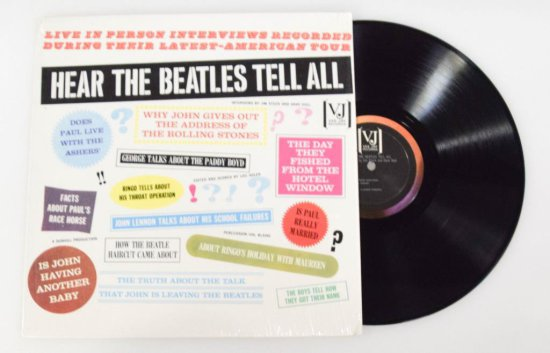 """Hear The Beatles Tell All"" LP"