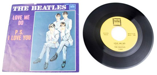 "The Beatles ""Love Me Do"" Vinyl Single"