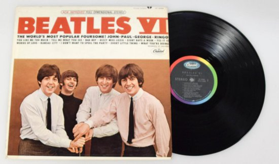 Beatles VI LP - Stereo