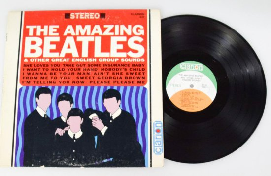 Amazing Beatles LP - Stereo