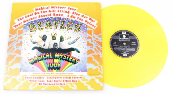 The Beatles Magical Mystery Tour Gold Vinyl Album