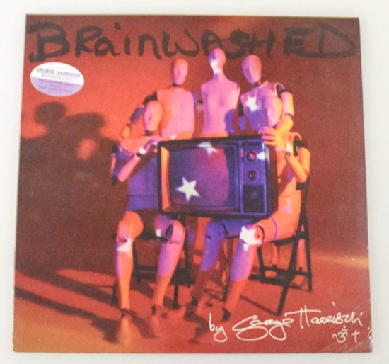 "George Harrison ""Brainwashed"" LP"