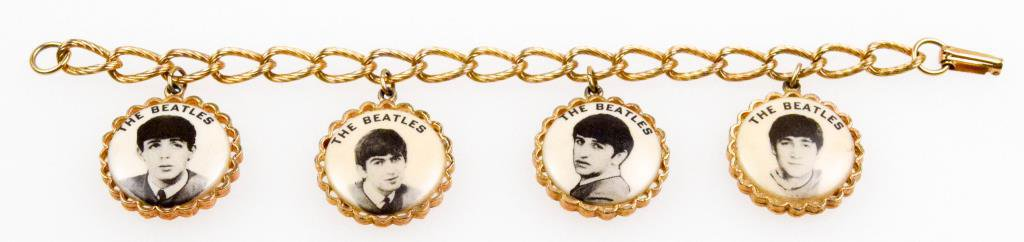 Beatles Charm Picture Bracelet