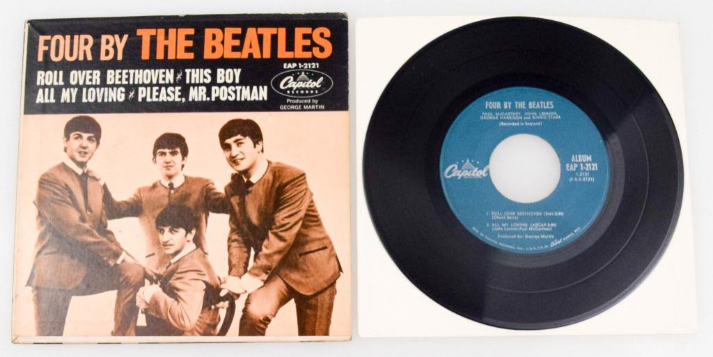 """Four By The Beatles"" EP 7"" Vinyl"