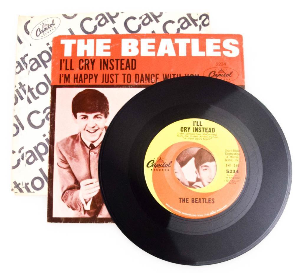 "Beatles ""I'll Cry Instead"" Single"