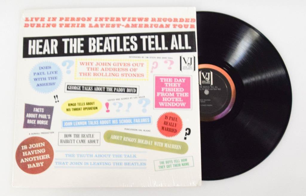"""Hear The Beatles Tell All"" LP"