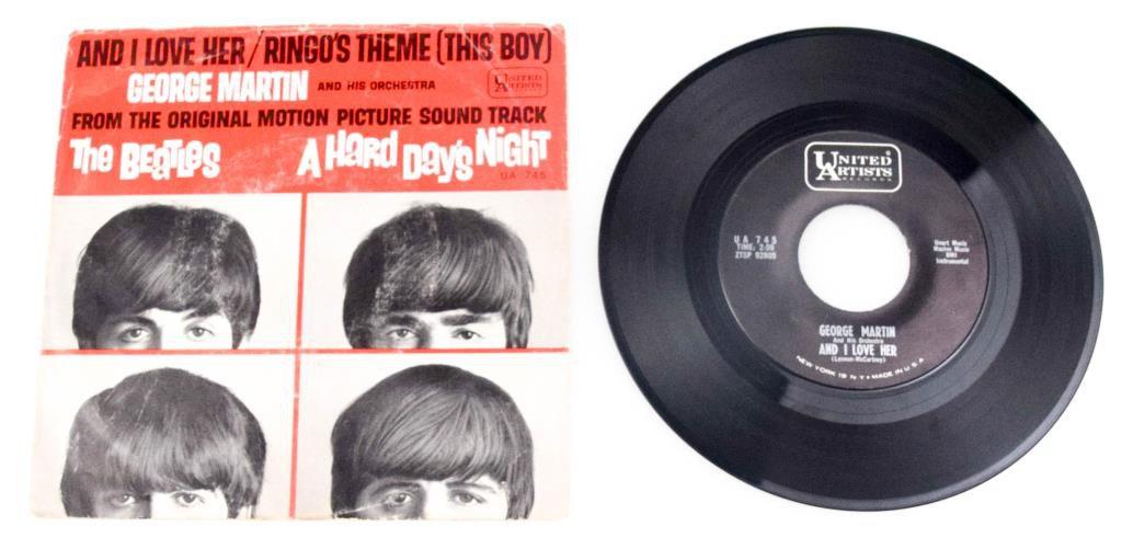 "George Martin ""A Hard Day's Night"" Single"