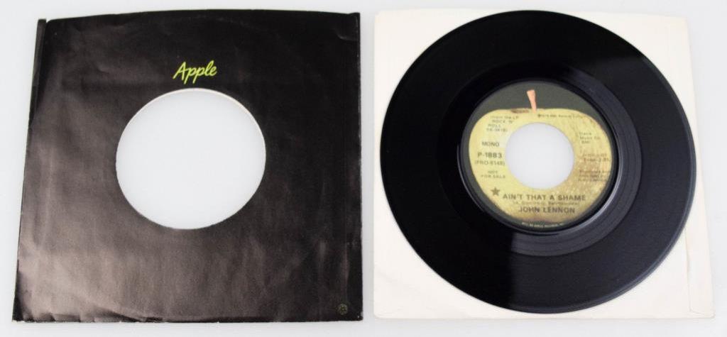 """John Lennon """"Isn't That A Shame"""" Vinyl 45"""