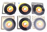 Assorted Beatles Vinyl Singles