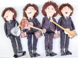 Beatles Forever Suited Dolls By Applause