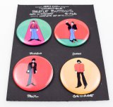 Beatles 1968 Yellow Submarine Pinback Button Set