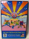 Peter Max Framed 2014 Fest Poster