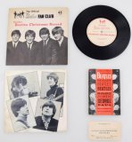 Beatles Collectible Wallet Photos & Fan Club Memorabilia
