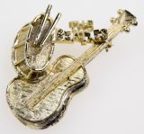 Beatles Instruments Pin